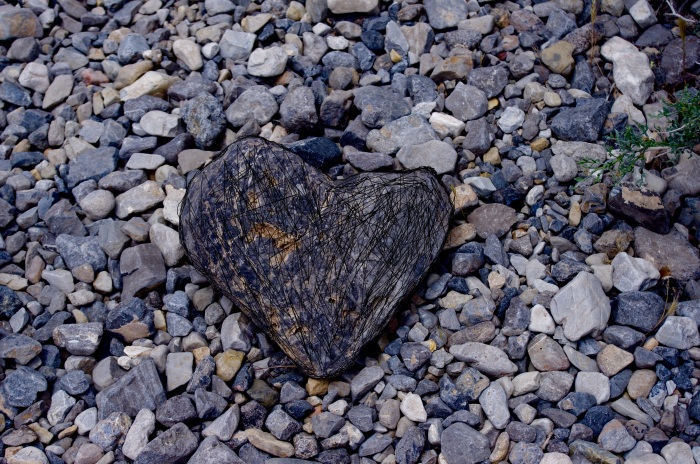 heart of stone abstract
